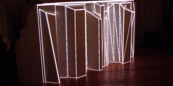 random seed – an audiovisual beat sculpture